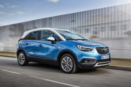 Attractive offer: The stylish and functional Opel Crossland X is now also available as an LPG version