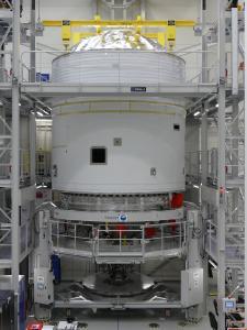Die Oberstufe der Ariane 6 Rakete wird im Bremer Werk der Ariane Group gefertigt / Quelle: AianeGroup GmbH