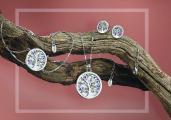 Lotus Silver Tree of Life