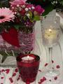 Teelichte zum Valentinstag
