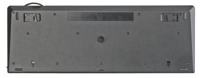GeneralKeys USB-Standardtastatur mit Fingerabdruck-Scanner