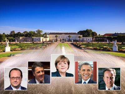 Barack Obama will visit the capital of Lower Saxony to open the HANNOVER MESSE 2016. Hannover also welcomes the Prime Minister David Cameron, the President of France François Hollande, the Italian Prime Minister Matteo Renzi and the German chancellor Angela Merkel /Foto: offizielle Regierungsfotos (White House, COP Paris, Dominik Butzmann, Tiberio