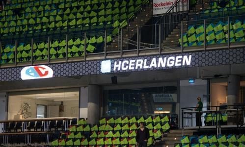 Die Arena Nürnberger Versicherung ist bereit und wartet auf seine HC Erlangen-Fans (Foto: hl-studios, Erlangen)