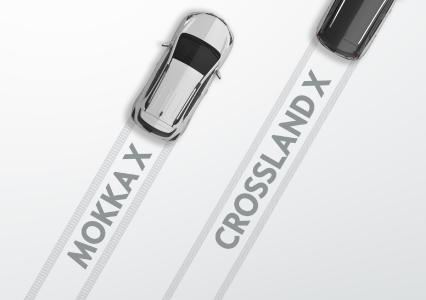 Der Opel Crossland X fürs B-Segment startet 2017 an der Seite des erfolgreichen MOKKA X