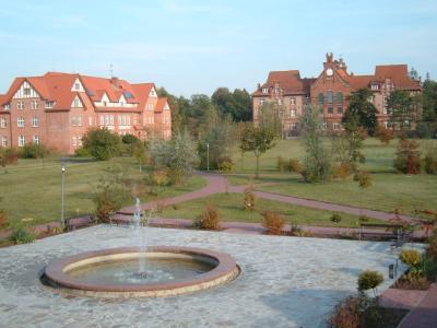 Campus der Theologischen Hochschule Friedensau bei Magdeburg
