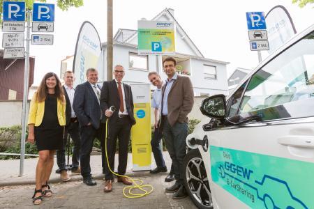 GGEW AG erweitert Ladeinfrastruktur für Elektroautofahrer