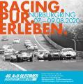 Offizielles Plakatmotiv des 48. AvD-Oldtimer-Grand-Prix auf dem Nürburgring.