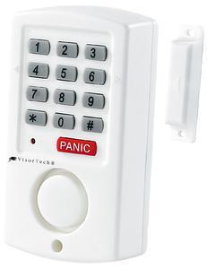 VisorTech Hausalarm mit Code-Sicherung für Fenster, Tür u.v.m.