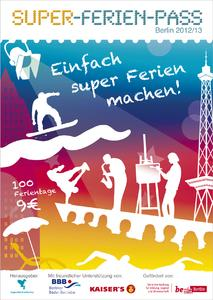 Super-Ferien-Pass / Berlin 2012/13