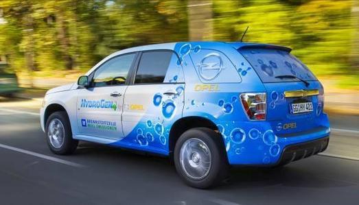 Die Elektrofahrzeuge von Opel (im Bild der HydronGen4) stehen in den kommenden Tagen bei der Challenge Bibendum im Mittelpunkt.