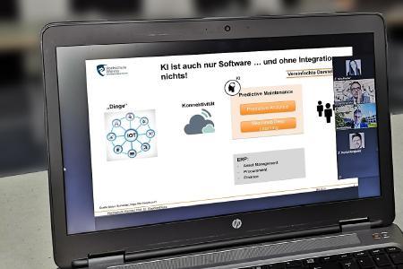 """Auch digital bleibt das Interesse an aktuellen Fokusthemen der gemeinsamen Veranstaltungsreihe """"KMU meets KMH"""" der Hochschule Worms und der IHK für Rheinhessen hoch"""