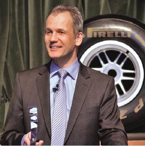 Michael Wendt, Vorsitzender der Geschäftsführung der Pirelli Deutschland GmbH