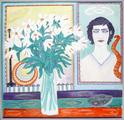 Josephine Troller: Kritische Sicht, 1978 Öl auf Leinwand, 112 x 116 cm Inv.-Nr. 2007.35x