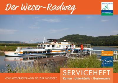 Titel Weser-Radweg Serviceheft 2019