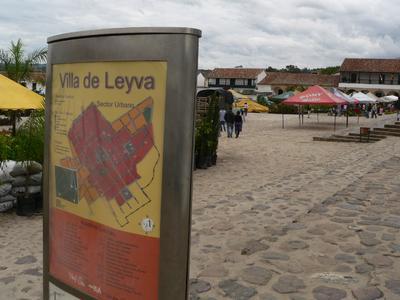 Villa de Leyva Kolonialstadt