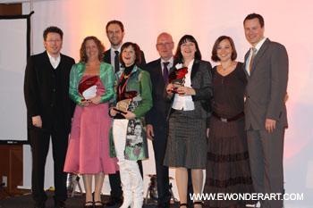 Die Coaching Award Gewinner 2009 - strahlen - wer wird dieses wohl 2010 strahlen