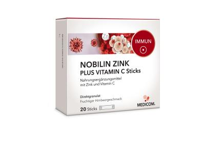 Nobilin Zink Plus Vitamin C Sticks
