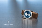 Lilienthal Berlin Chronograph Duality Silver Blue