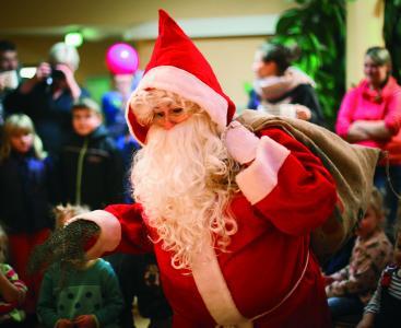 Der Weihnachtsmann kommt am 3. Advent in die Jugendherberge Greifswald (Quelle: DJH-MV/Gohlke)