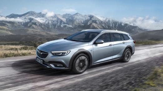 Ab auf die Piste: Der neue Opel Insignia Country Tourer begeistert mit seinem rauen Offroad-Look und Top-Technologien wie dem FlexRide Premium-Fahrwerk und dem auf Wunsch erhältlichen cleveren Allradantrieb inklusive Torque Vectoring
