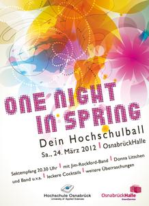 One night in spring