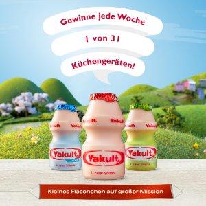 Gewinnspielaktionen begleiten die neue Kommunikations-Kampagne von Yakult
