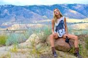 Melanie Dekker  on Rock by Len Rooney