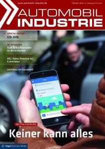 """Das Fachmedium """"Automobil Industrie"""" beleuchtet die Folgen der Digitalisierung für Hersteller, Zulieferer und IT-Dienstleister / Foto: Vogel Business Media"""