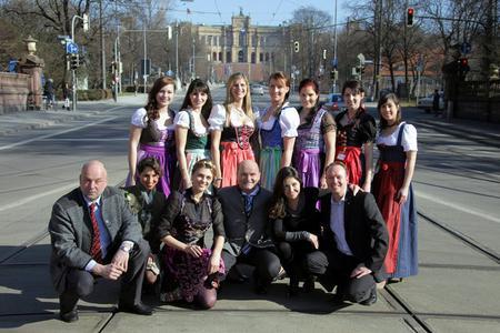 Finalistinnen und Jury (Foto: Bayerischer Brauerbund e.V.)