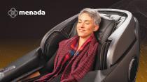 Die neuen Massagesessel von menada: grenzenlose Massagen auf Knopfdruck