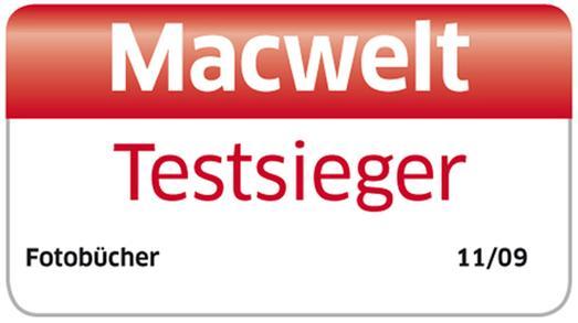 Testsieger des Magazins Macwelt: das CEWE FOTOBUCH