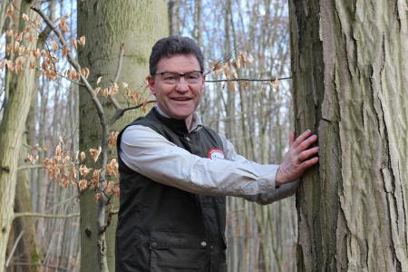 Kraft für die Herausforderungen seines Alltags als Unternehmer holt sich Jürgen Dawo in der Natur