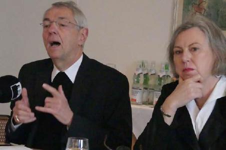 Ludwig Schick und Petra Bosse-Huber, © Foto: Holger Teubert/APD