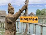 Pfahlbauten am Bodensee. Cop. Pfahlbaumuseum/Schellinger