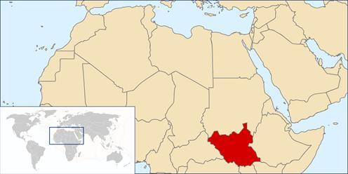 Südsudan © Grafik: LouisianaFan/Wikimedia Commons