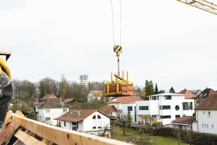 In der Bauwirtschaft läuft es dank anziehender Nachfrage im Wohnungsbau rund (Foto: Katharina Täubl)