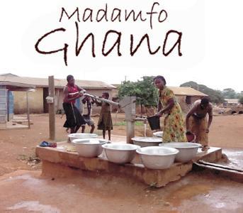 Trinkwasserbrunnen in Ghana