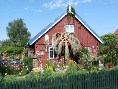 Fischerhaus in Nida, Litauen / Bildquelle:©Schnieder Reisen