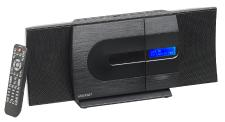 auvisio Vertikale Design-Stereoanlage MSX-620.dab, FM/DAB+, Bluetooth, CD, MP3, AUX, 40 Watt