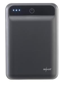 ZX 2819 4 revolt Powerbank im Kreditkartenformat 10.000 mAh 2 USB Ports 2.4 A 12 W