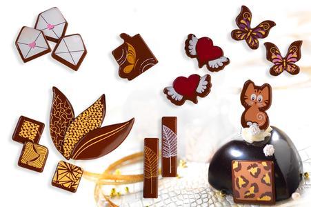 Schokoladen Dekore