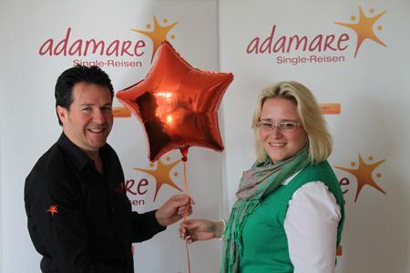 ITB wird zur Single-Börse - adamare SingleReisen erstmals auf der weltgrößten Reisemesse mit Stand vertreten