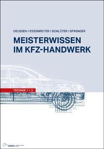 """Fachbuch """"Meisterwissen im Kfz-Handwerk: Technik"""" / Foto: Vogel Communications Group"""