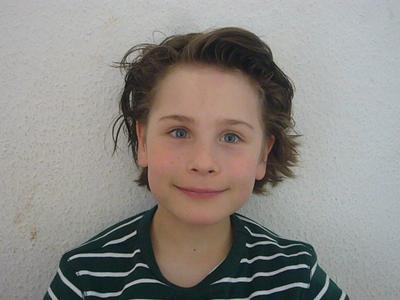 Benjamin, 8 Jahre. 2 Klasse.