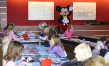 Mickey Mouse visits MEYER WERFT