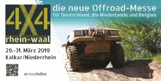 """""""4x4 rhein-waal"""" vom 29. bis 31. März auf dem Gelände der Messe Kalkar (Foto: 4x4 rhein waal)"""