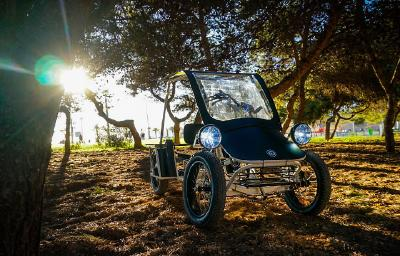 Der coole Prototyp Duo Moke von Urban Drivestyle – E-Bikes hergestellt in Berlin