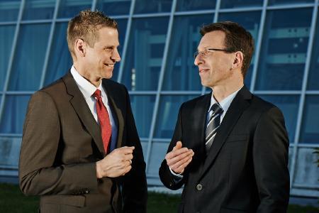 Oliver Benz und Stephan Bartosch