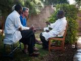 Joachim Schinkel bei Gesprächen mit kenianischen Kollegen in Nakuru © Eric Pawlitzky
