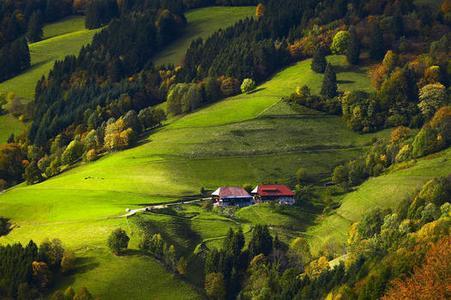 Schwarzwald Bauernhöfe Münstertal, (Foto: Erich Spiegelhalter/STG)